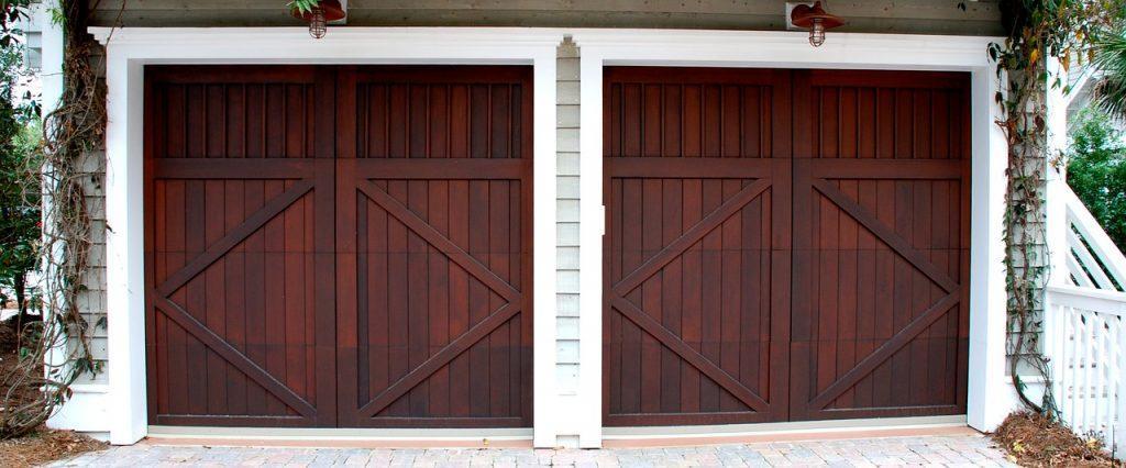 how to make a garage door secure