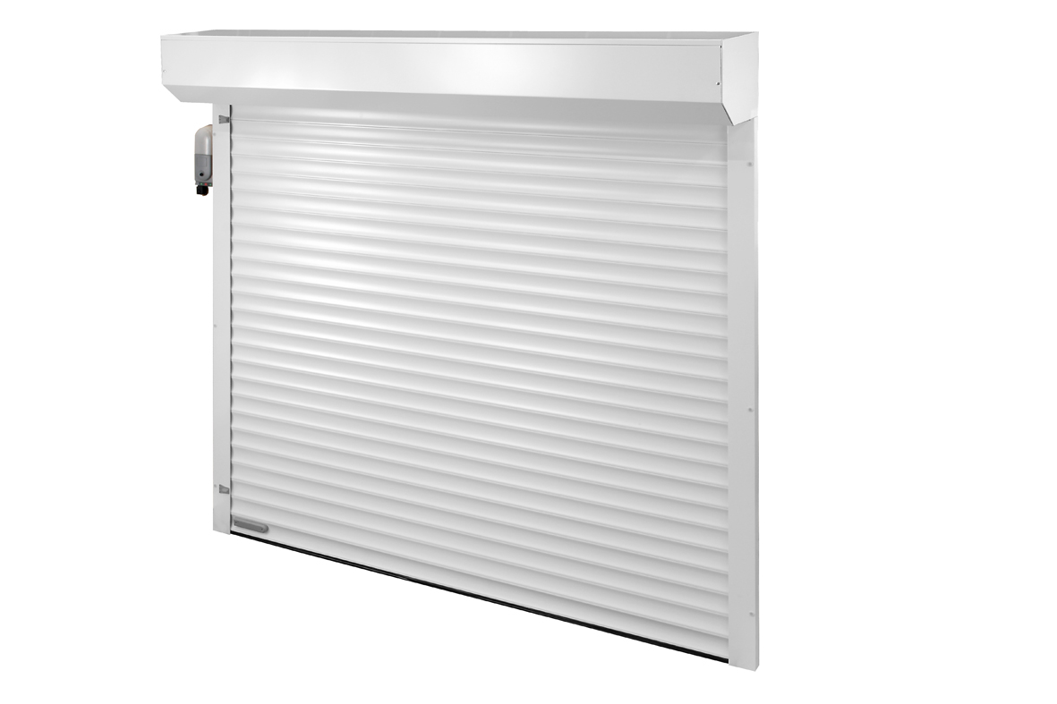Roll a glide compact from gliderol doormatic garage doors for How to install a roll up garage door motor