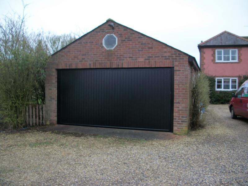 Cardale Black Steel Vertical Door Fitted In Lightwater Surrey