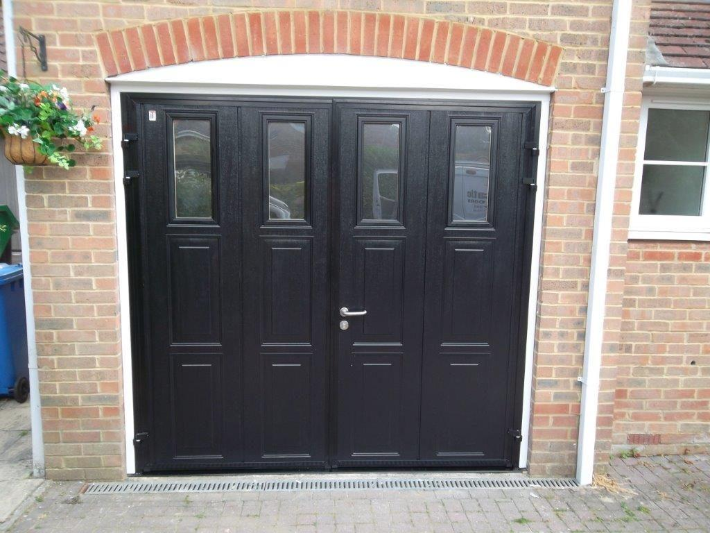 Carteck Side Hinged Insulated Camberley Doormatic Garage