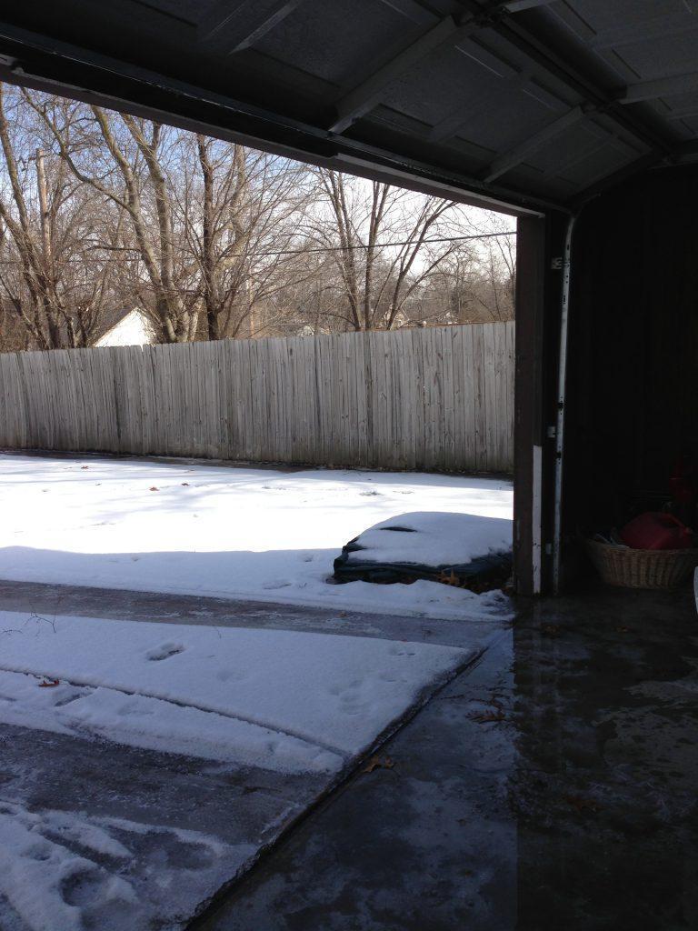 How To Open A Garage Door Thats Frozen Shut Doormatic Garage Doors