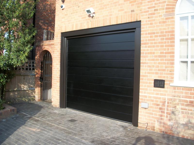 Carteck Sectional M Ribbed Garage Door Esher Surrey