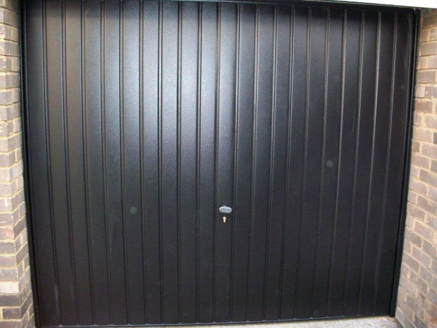Steel Henderson Up Over Garage Door Putney London Garage Door