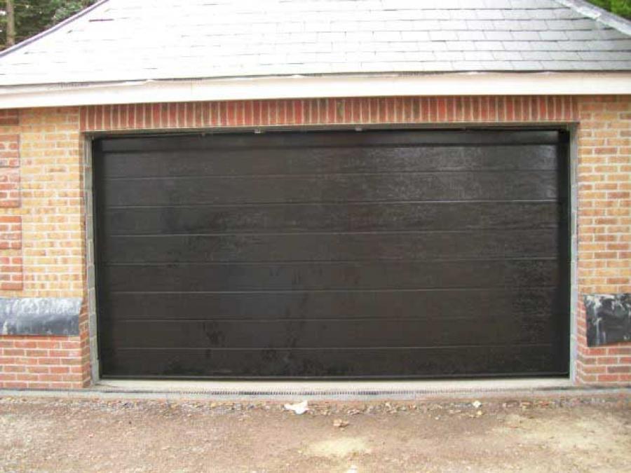 Novoferm sectional door cobham surrey doormatic garage for 11 x 7 garage door