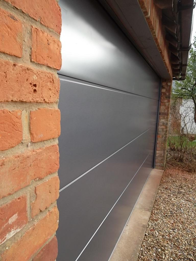Carteck Double Sectional Garage Door Esher Surrey