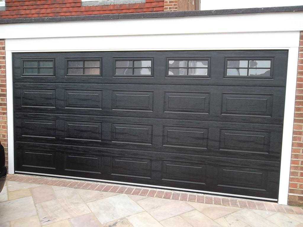 Carteck Sectional Garage Door With Windows Fitted In