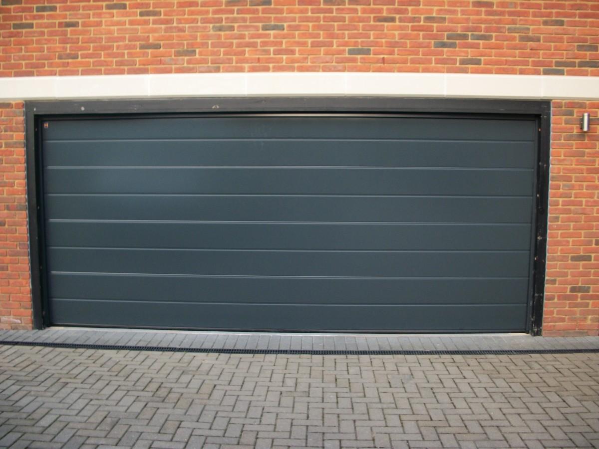 2 Hormann Sectional Doors Fitted In Oxshott Surrey