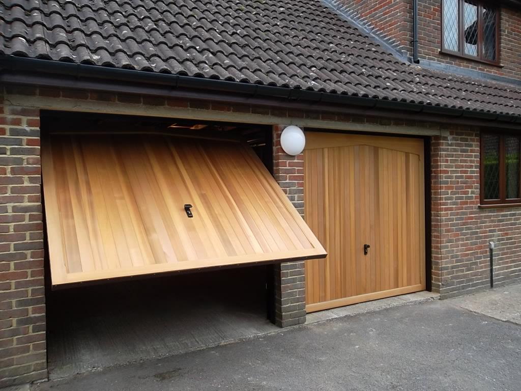 768 #A66825  DOORS FULLY FINISHED IN LIGHT OAK CAMBERLEY Doormatic Garage Doors picture/photo Oak Garage Doors 38491024