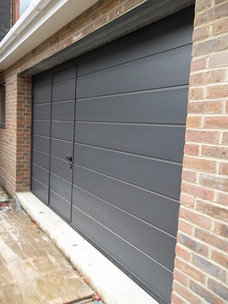 Hormann Sectional Garage Door Fitted In Camberley Surrey