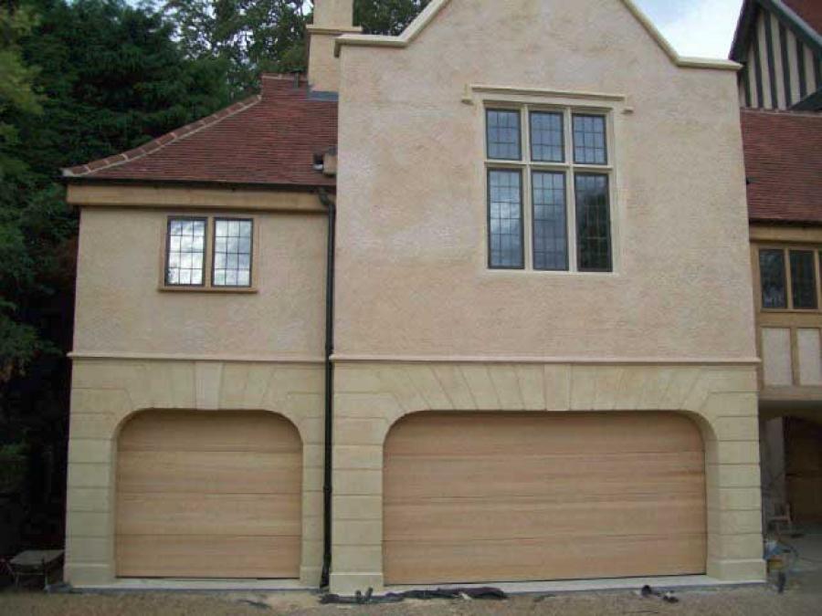 Carteck timber sectional garage doors wimbledon london for 11 x 7 garage door