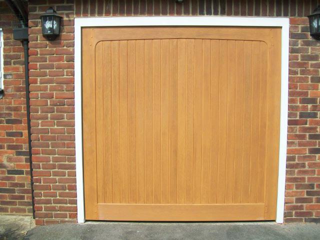 Glasswood Retractable Door Installation Doormatic Garage
