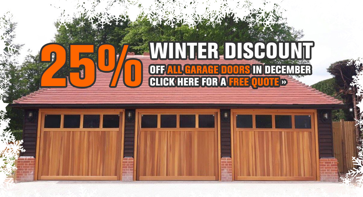 garage doors december offer