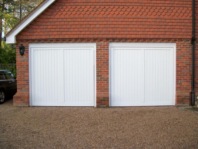 Cardale Steel Berkeley Vertical Doors Sunningdale Doormatic