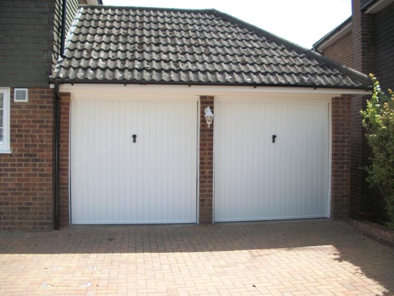 Canopy Garage Doors : Cardale steel canopy garage doors fitted in camberley
