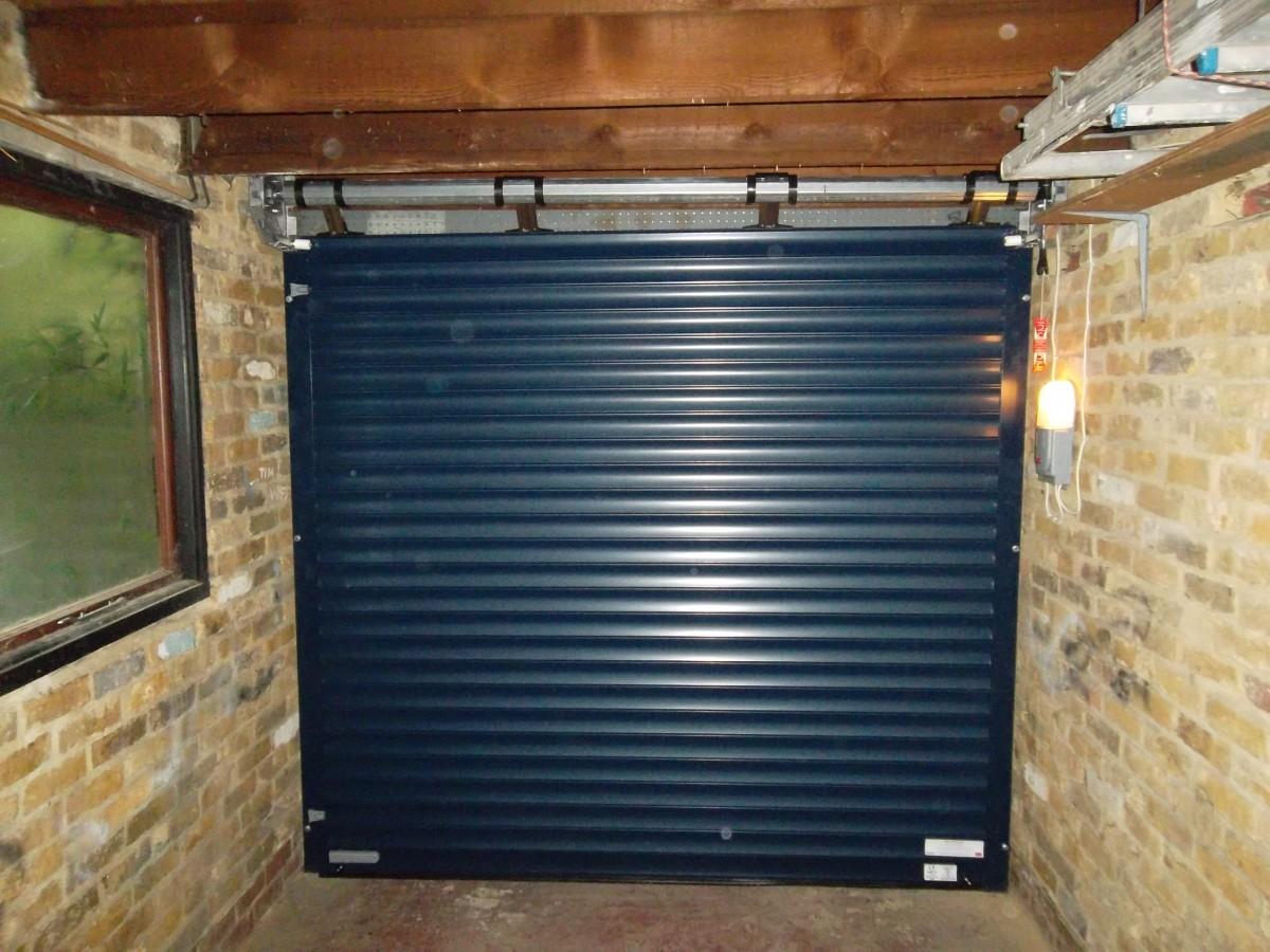 Seceuroglide Roller Garage Door Fitted In Godalming