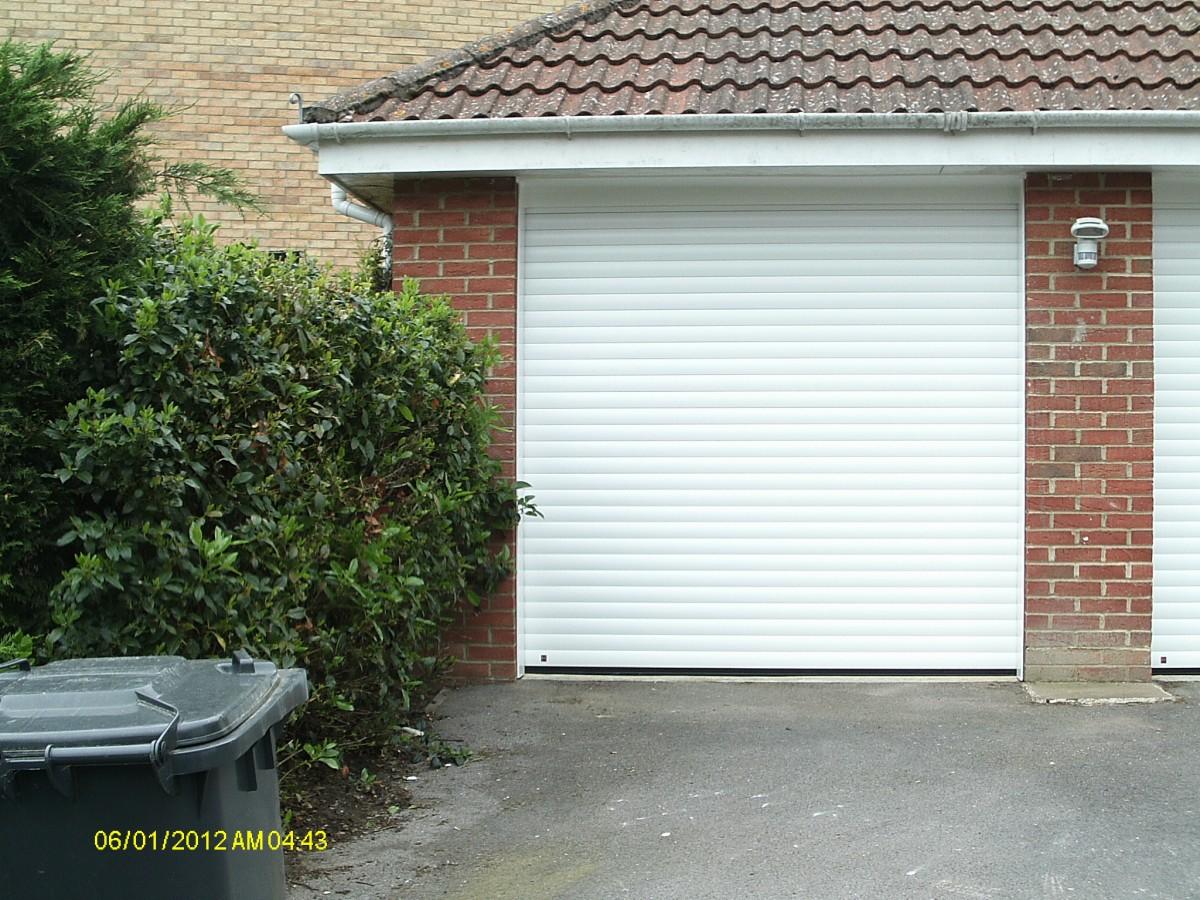 Hormann Roller Garage Doors Fitted In Egham Surrey