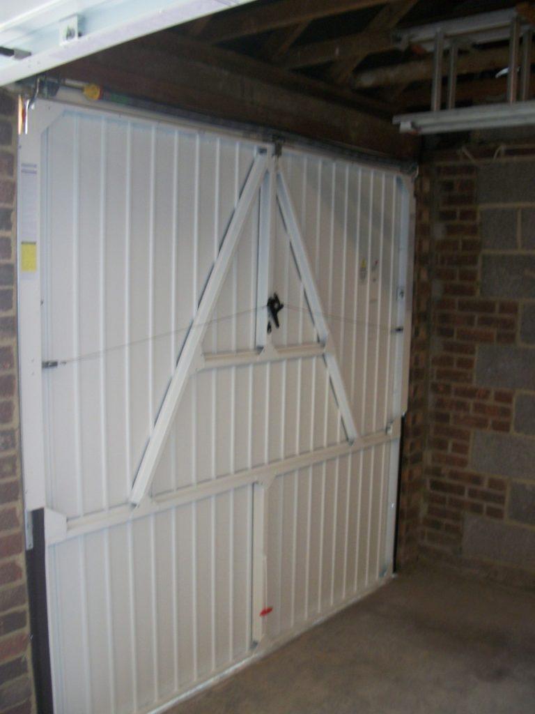 White Garage Doors