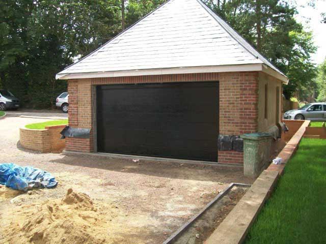 novoferm sectional garage door fitted in cobham surrey. Black Bedroom Furniture Sets. Home Design Ideas
