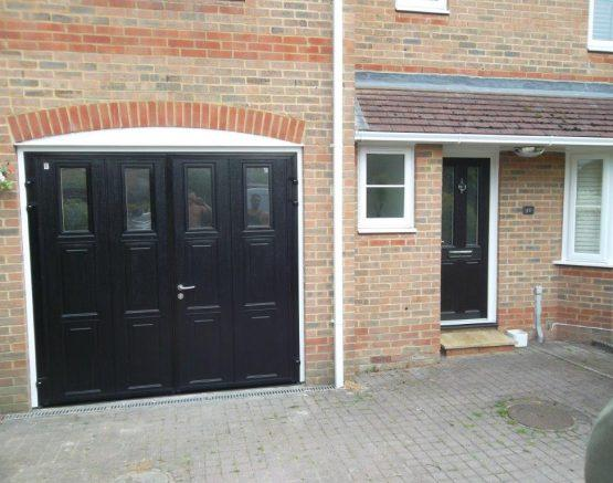 Side Hinged Garage Doors In Surrey London Amp Kent Doormatic