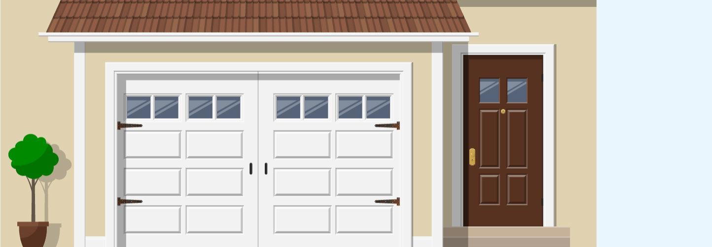 garage door rollers guide
