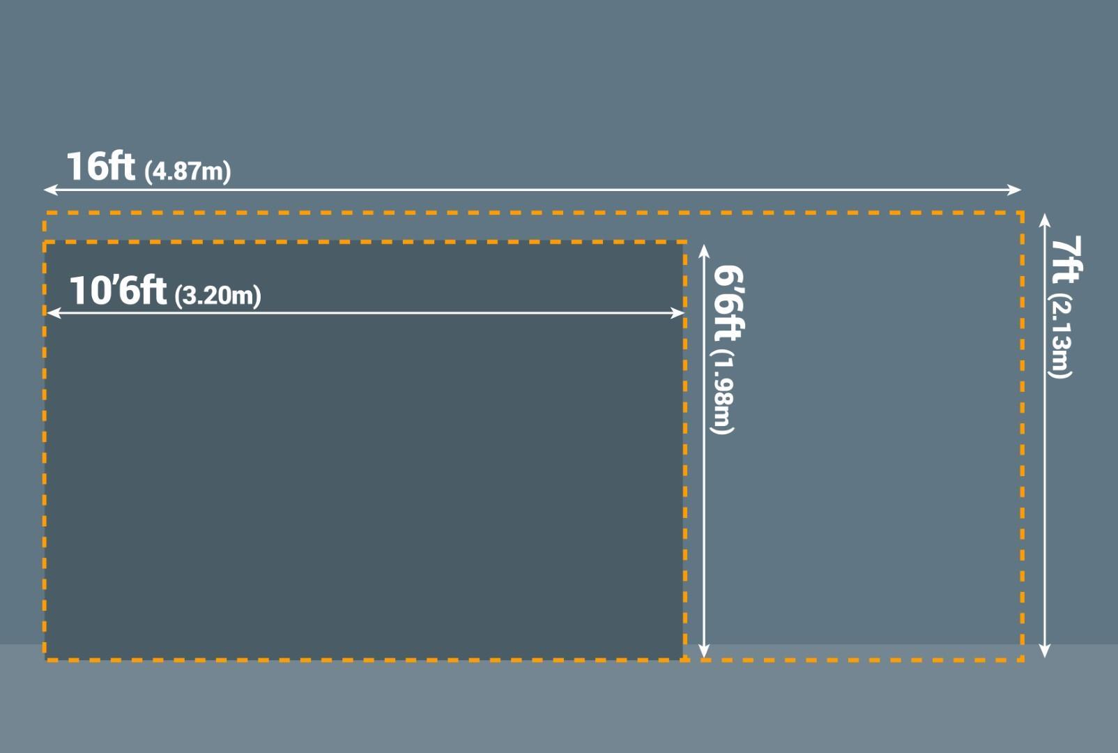 Standard double garage door sizes UK