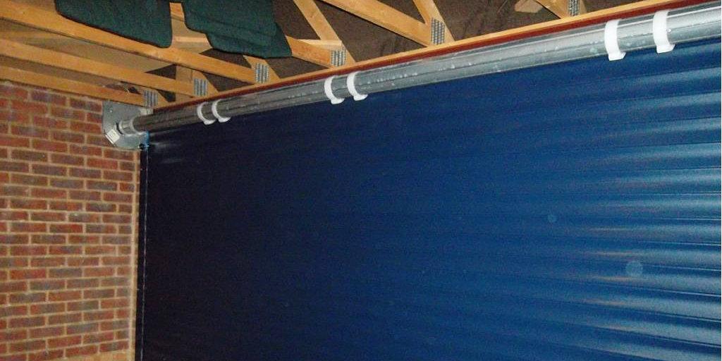 roller garage door accessibility