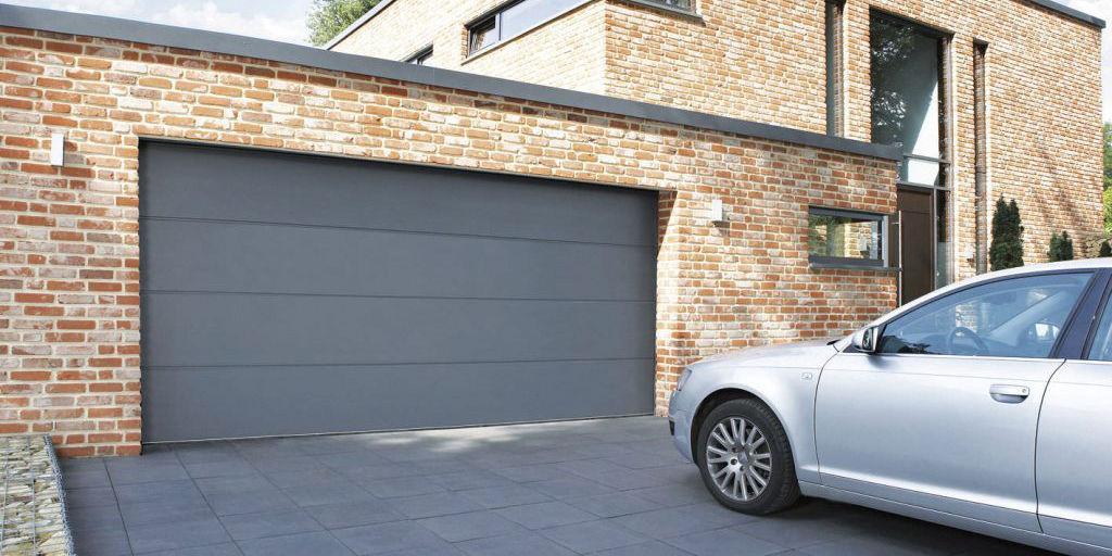 sectional garage door appearance