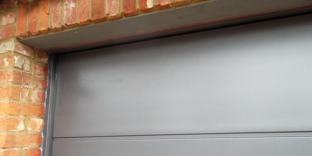 sectional garage door insulation
