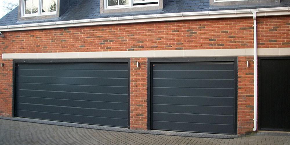 sectional garage door vs roller