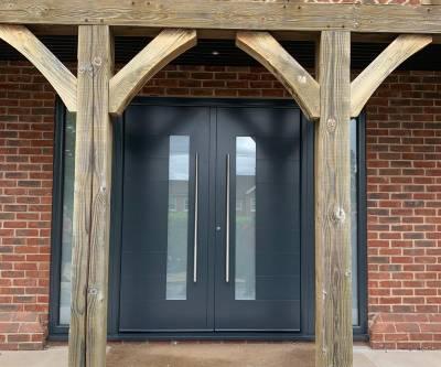 Spitfire S200 front door In Cobham, Surrey