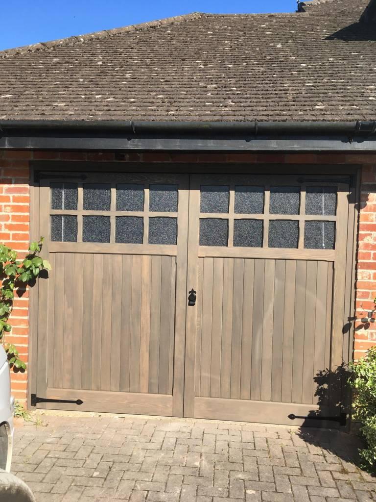 Woodrite Bierton Cedar Wood Side-Hinged Doors In Reading, Berkshire