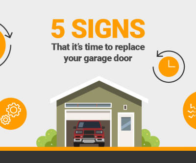 5 signs its time to replace your garage door