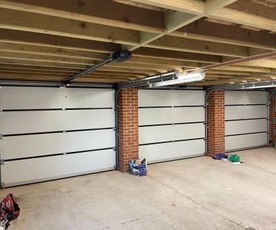 Cartek sectional garage doors