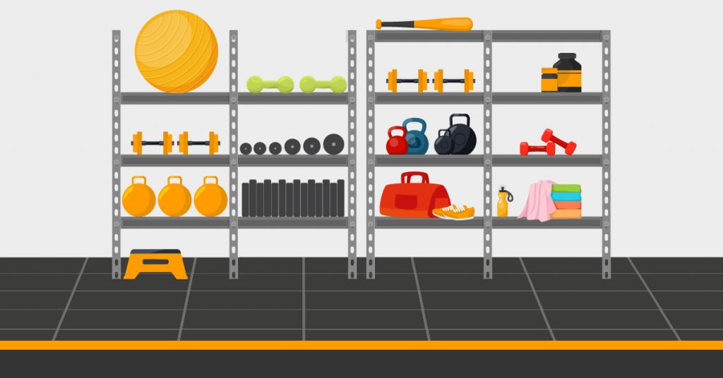 Storage space in garage